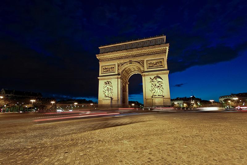 Galeries Lafayette na Champs Elysées