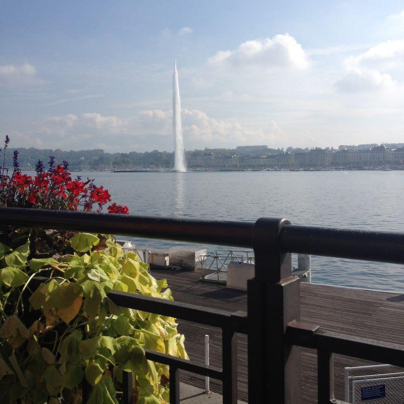 Bate e volta de Paris a Genebra