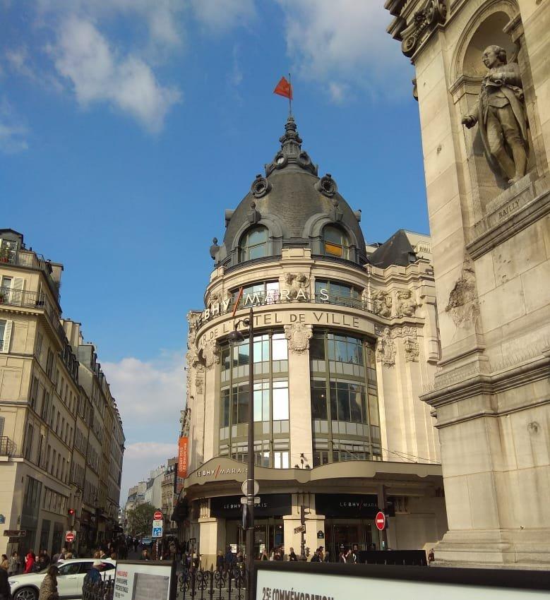 Dica incrível de loja de departamentos em Paris